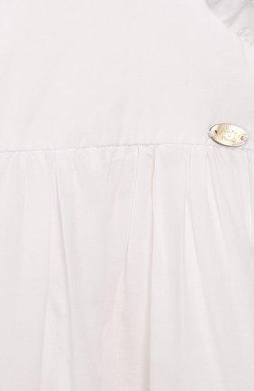 Женский хлопковое платье TARTINE ET CHOCOLAT белого цвета, арт. TQ30111/18M-3A | Фото 3