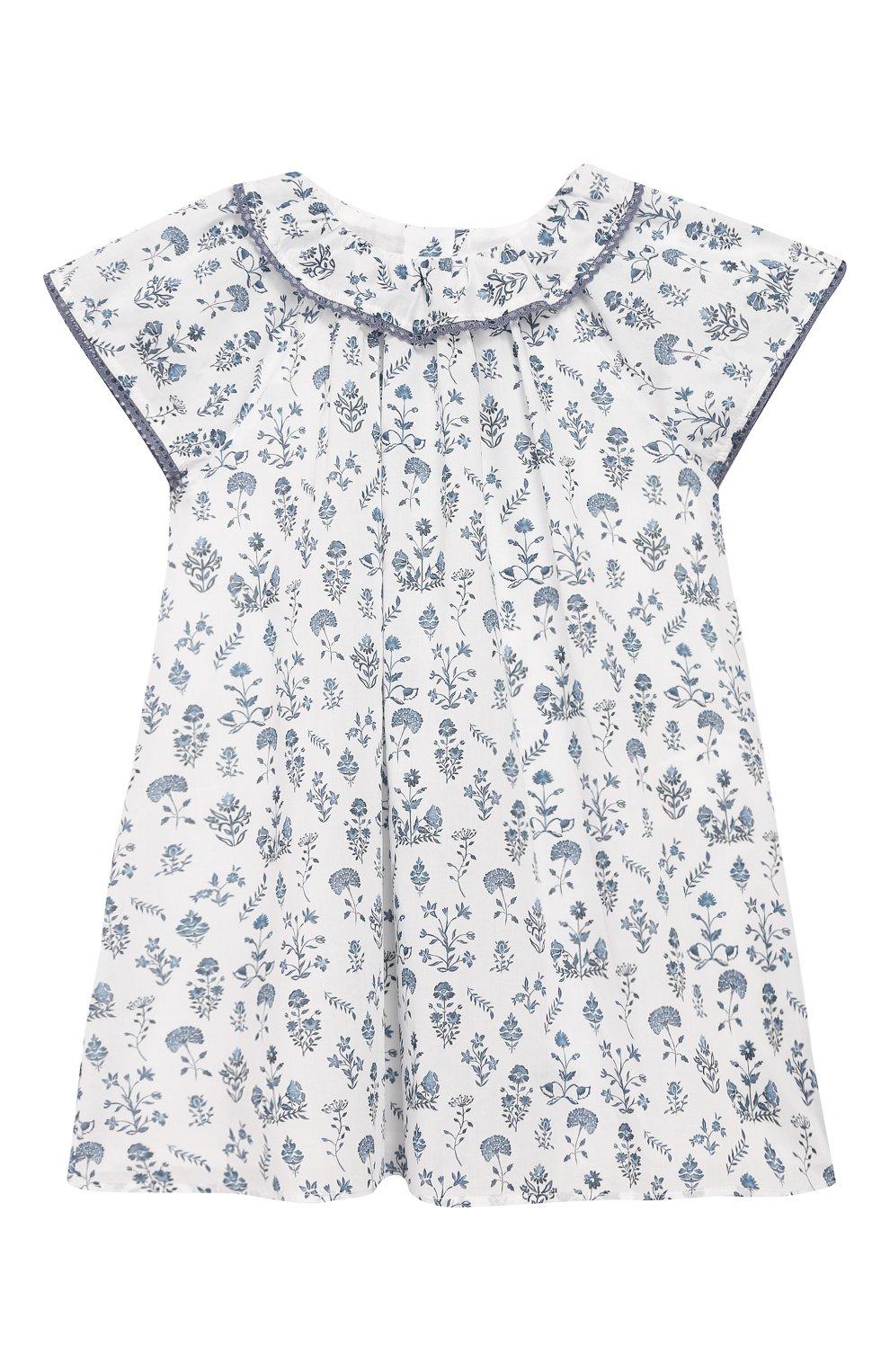 Женский хлопковое платье TARTINE ET CHOCOLAT белого цвета, арт. TQ30041/4A-5A | Фото 1