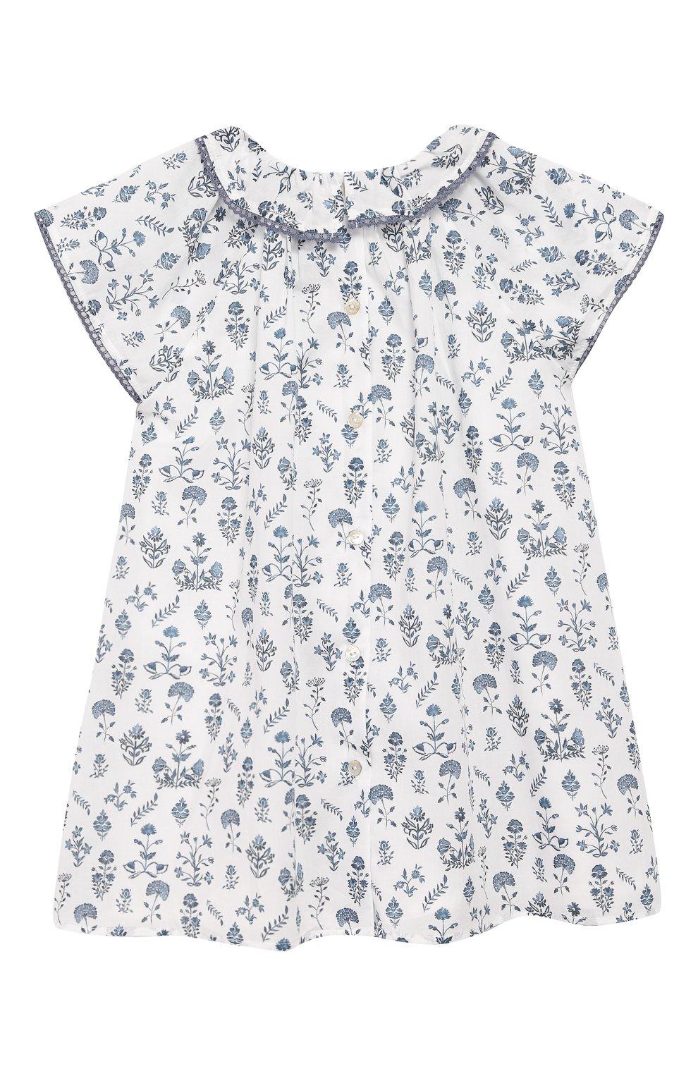 Женский хлопковое платье TARTINE ET CHOCOLAT белого цвета, арт. TQ30041/4A-5A | Фото 2