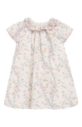 Женский хлопковое платье TARTINE ET CHOCOLAT бежевого цвета, арт. TQ30041/4A-5A | Фото 1