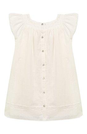 Женский хлопковое платье TARTINE ET CHOCOLAT бежевого цвета, арт. TQ30031/4A-5A | Фото 2