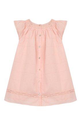 Женский хлопковое платье TARTINE ET CHOCOLAT светло-розового цвета, арт. TQ30031/18M-3A | Фото 2