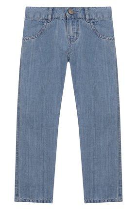 Детские джинсы TARTINE ET CHOCOLAT голубого цвета, арт. TQ22023 | Фото 1