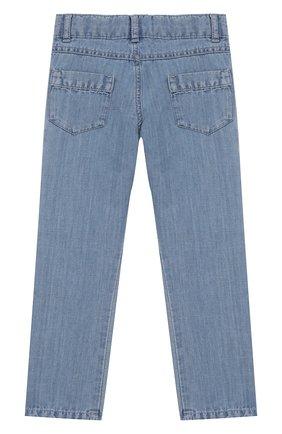 Детские джинсы TARTINE ET CHOCOLAT голубого цвета, арт. TQ22023 | Фото 2