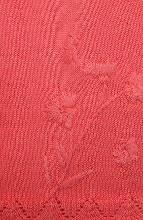 Детский хлопковый кардиган TARTINE ET CHOCOLAT розового цвета, арт. TQ18101/1M-1A | Фото 3
