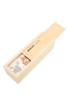 Детского набор карточек в коробке KID`S CONCEPT бежевого цвета, арт. 1000412 | Фото 1