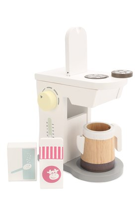 Детского игрушечный набор кофемашина KID`S CONCEPT белого цвета, арт. 1000262 | Фото 1