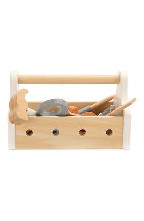 Детского набор игрушечных инструментов KID`S CONCEPT бежевого цвета, арт. 1000094 | Фото 1