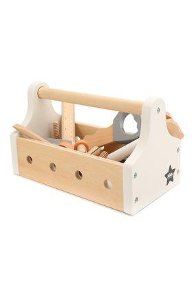 Детского набор игрушечных инструментов KID`S CONCEPT бежевого цвета, арт. 1000094 | Фото 2