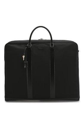 Мужская текстильная дорожная сумка SAINT LAURENT черного цвета, арт. 609259/KJX5E | Фото 1