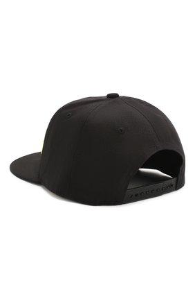 Мужской хлопковая бейсболка COMME DES FUCKDOWN черного цвета, арт. CDFA13NG | Фото 2