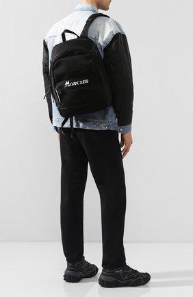Мужской текстильный рюкзак gimont MONCLER черного цвета, арт. F1-09A-5A702-10-02SB8   Фото 2