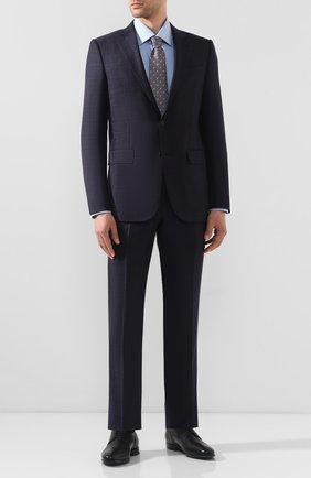Мужские кожаные дерби  ZILLI черного цвета, арт. MDQ-A024/012 | Фото 2