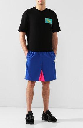 Мужские комбинированные кроссовки comme des garcons x nike air max 95 NIKELAB черного цвета, арт. PE-K101-002 | Фото 2