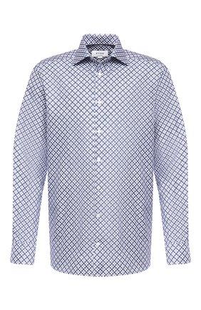 Мужская хлопковая сорочка ETON синего цвета, арт. 1000 01219 | Фото 1