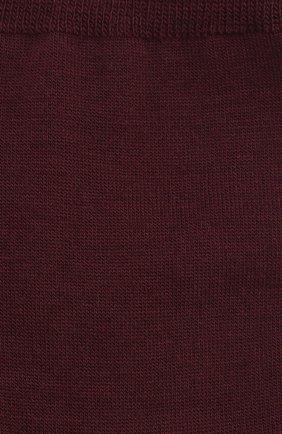 Мужские носки из смеси шерсти и хлопка FALKE бордового цвета, арт. 14435.. | Фото 2