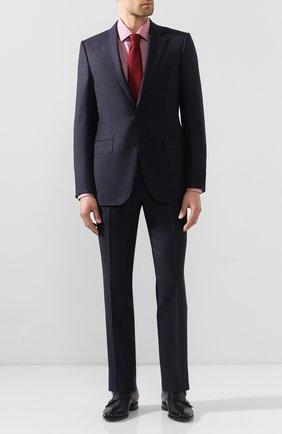 Мужская хлопковая сорочка CORNELIANI красного цвета, арт. 85P010-0111382/00 | Фото 2