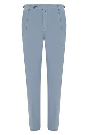 Мужской хлопковые брюки ANDREA CAMPAGNA голубого цвета, арт. STR0MB0LI/LM1571X   Фото 1