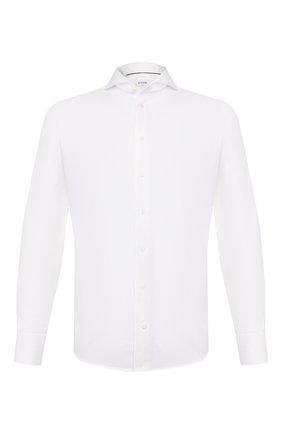 Мужская хлопковая сорочка ETON белого цвета, арт. 3882 73511 | Фото 1