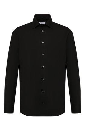Мужская хлопковая сорочка ETON черного цвета, арт. 3548 79511 | Фото 1