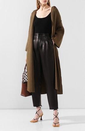 Женские кожаные брюки J BRAND черного цвета, арт. JB002747 | Фото 2