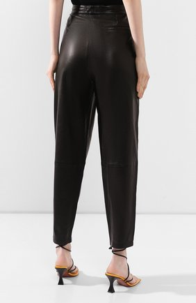 Женские кожаные брюки J BRAND черного цвета, арт. JB002747 | Фото 4