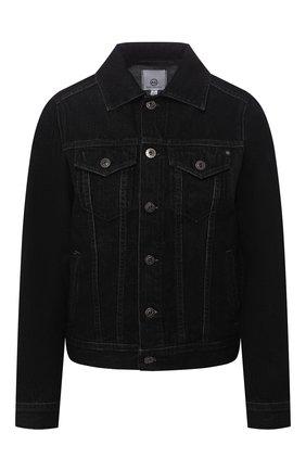 Женская джинсовая куртка AG серого цвета, арт. BKS4179/RESI | Фото 1