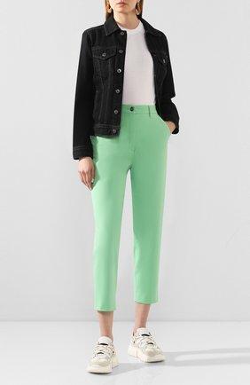 Женская джинсовая куртка AG серого цвета, арт. BKS4179/RESI | Фото 2