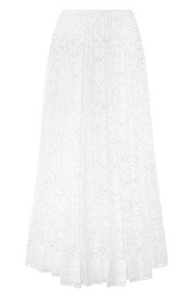 Женская юбка VALENTINO белого цвета, арт. TB0RA5U11EC | Фото 1