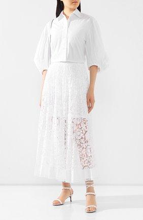 Женская юбка VALENTINO белого цвета, арт. TB0RA5U11EC | Фото 2