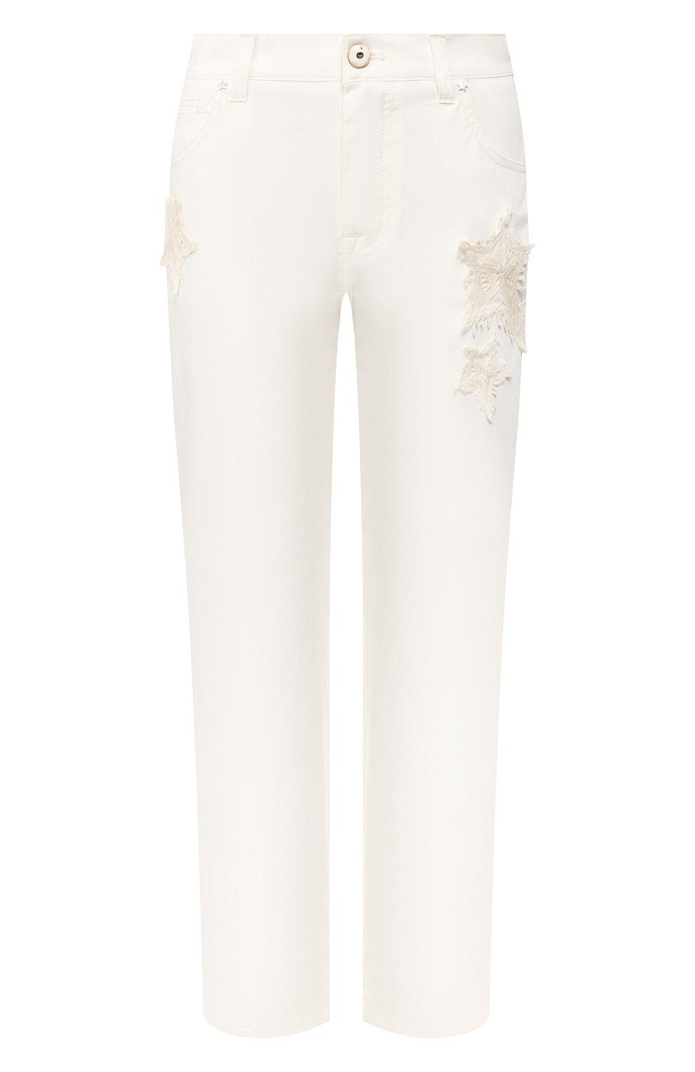 Женские джинсы LORENA ANTONIAZZI белого цвета, арт. E2002PA018/3184   Фото 1