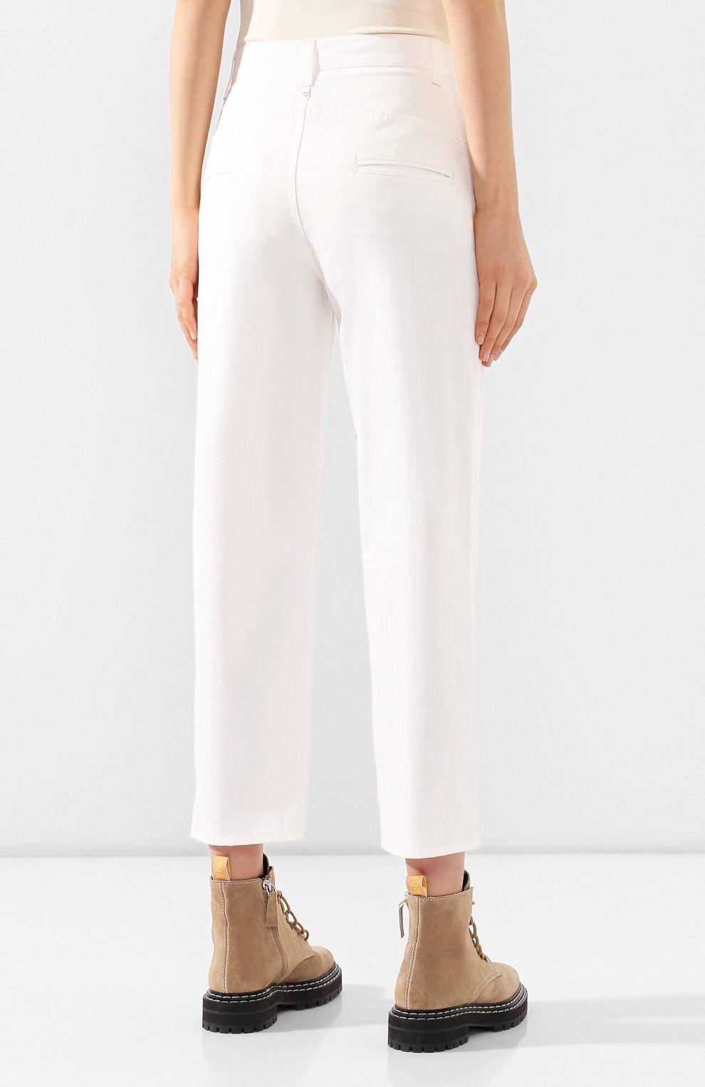 Женские джинсы LORENA ANTONIAZZI белого цвета, арт. E2002PA018/3184   Фото 4
