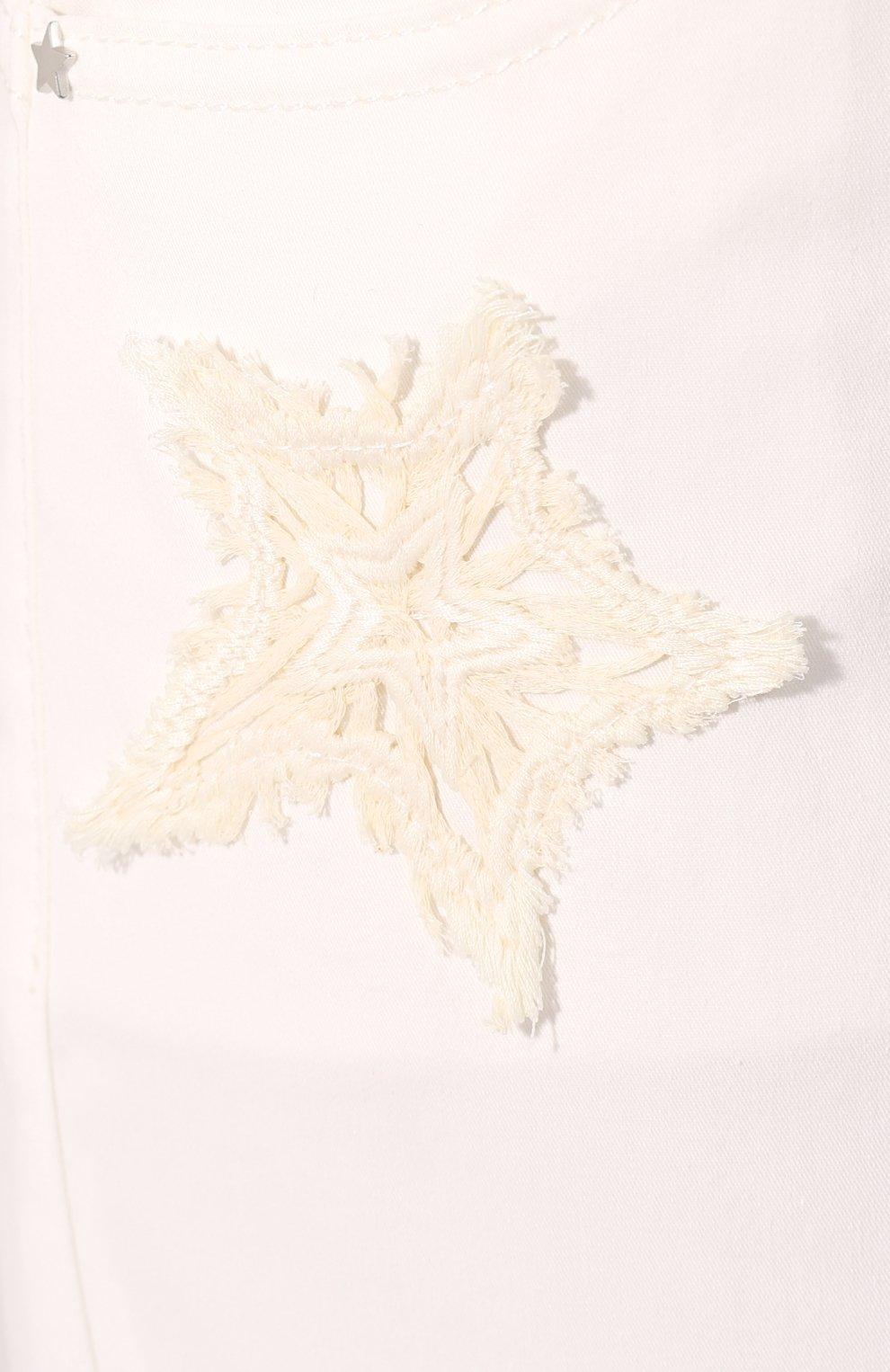 Женские джинсы LORENA ANTONIAZZI белого цвета, арт. E2002PA018/3184   Фото 5