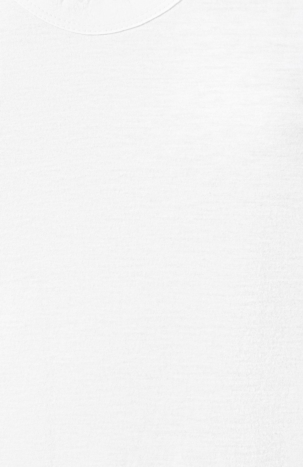Женская хлопковая футболка JAMES PERSE белого цвета, арт. WELJ3331   Фото 5