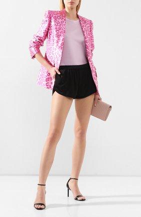 Женская футболка из вискозы TOM FORD розового цвета, арт. TSJ408-FAX159 | Фото 2