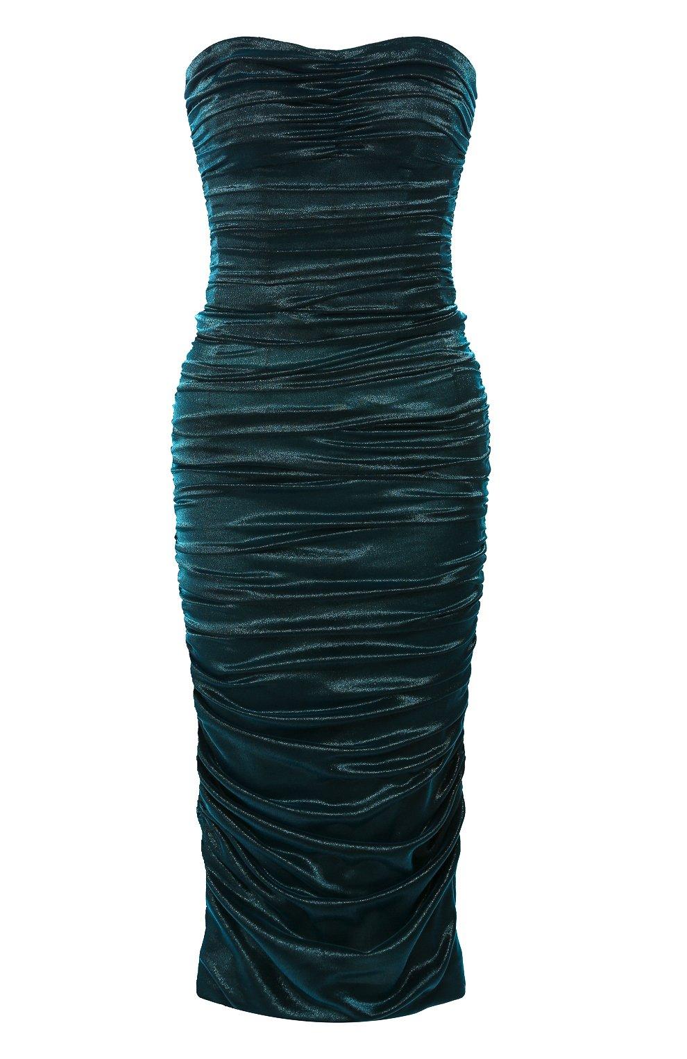 Женское платье DOLCE & GABBANA синего цвета, арт. F6I4ET/HUMIC | Фото 1