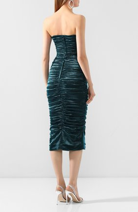 Женское платье DOLCE & GABBANA синего цвета, арт. F6I4ET/HUMIC | Фото 4