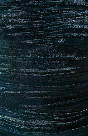 Женское платье DOLCE & GABBANA синего цвета, арт. F6I4ET/HUMIC | Фото 5