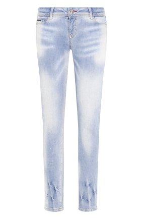 Женские джинсы PHILIPP PLEIN синего цвета, арт. P20C WDT1379 PDE004N | Фото 1