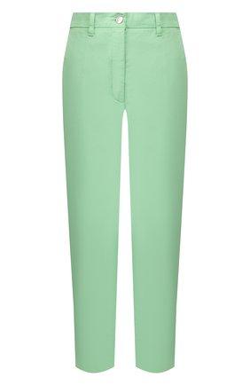 Женские хлопковые брюки TWO WOMEN IN THE WORLD зеленого цвета, арт. LAUREN/YEAT3 | Фото 1