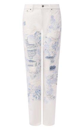 Женские джинсы RALPH LAUREN белого цвета, арт. 290822212 | Фото 1