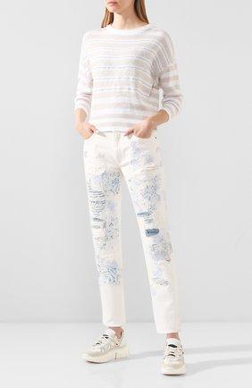 Женские джинсы RALPH LAUREN белого цвета, арт. 290822212 | Фото 2