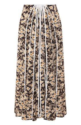 Женская шелковая юбка STELLA MCCARTNEY разноцветного цвета, арт. 600848/S0A49 | Фото 1