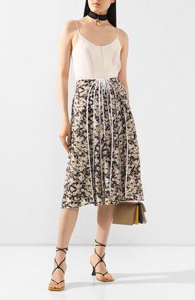 Женская шелковая юбка STELLA MCCARTNEY разноцветного цвета, арт. 600848/S0A49 | Фото 2