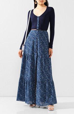 Женское платье-макси ALTUZARRA синего цвета, арт. 120-3002-BSP001 | Фото 2