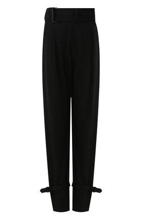 Женские шерстяные брюки HYKE черного цвета, арт. 13180 | Фото 1
