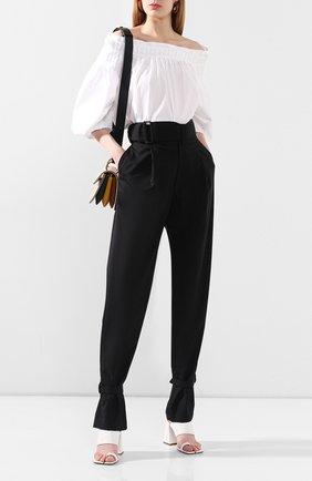 Женские шерстяные брюки HYKE черного цвета, арт. 13180 | Фото 2