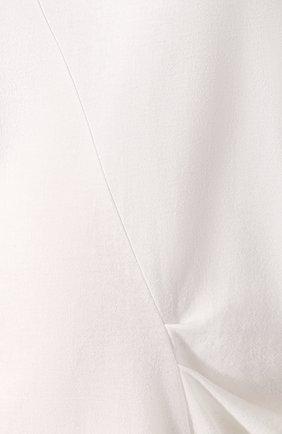 Женская хлопковая футболка REJINA PYO белого цвета, арт. C149K/C0TT0N JERSEY | Фото 5