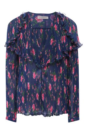 Женская блузка PHILOSOPHY DI LORENZO SERAFINI синего цвета, арт. A0237/2184 | Фото 1