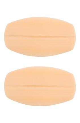 Женские подкладки под бретели MISS PERFECT бежевого цвета, арт. MPA40006 | Фото 1